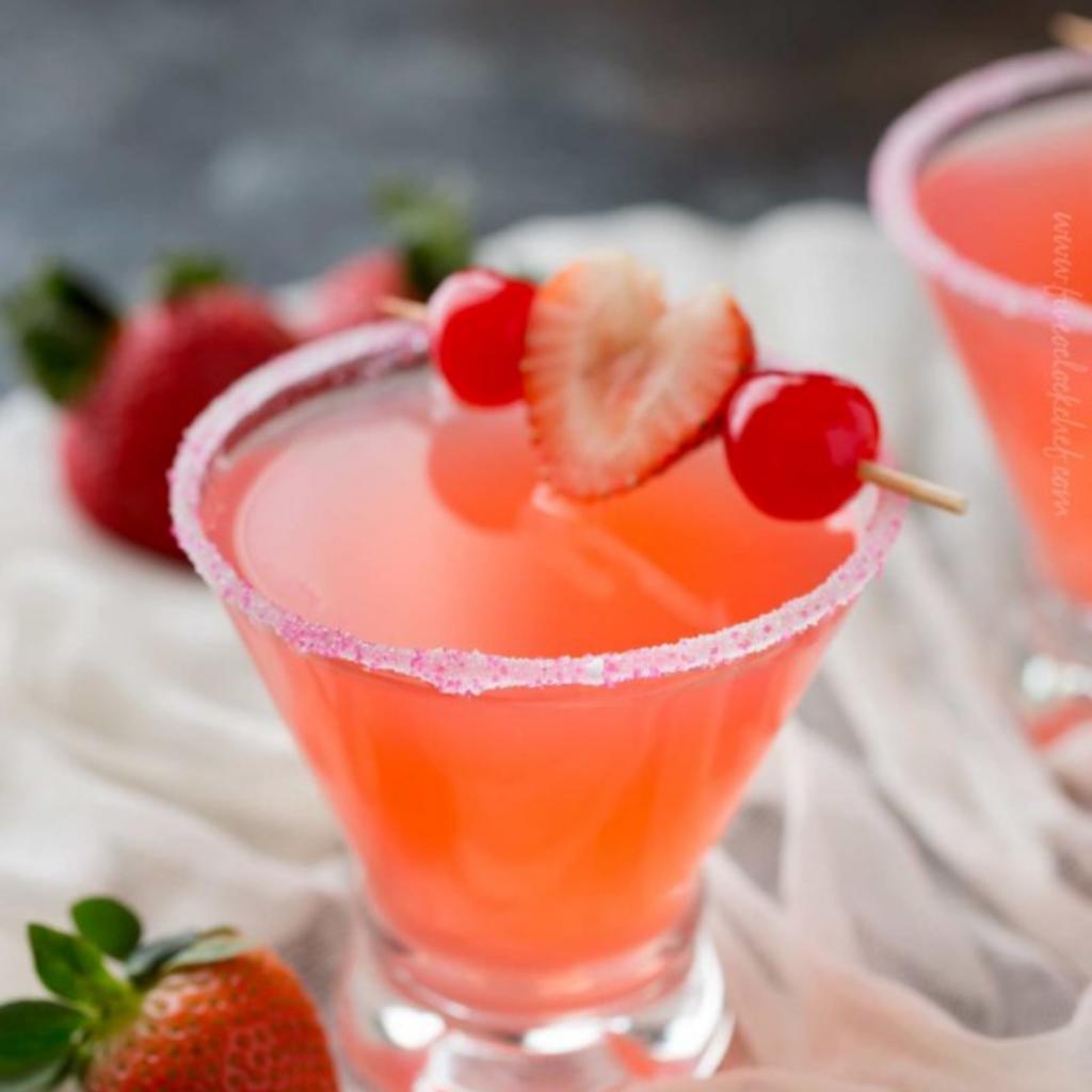 idées de cocktail pour la saint-valentin